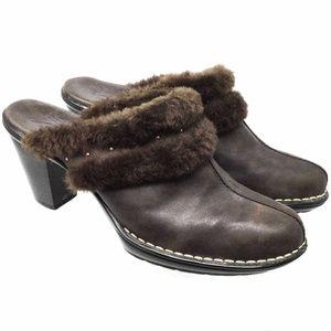 Sofft Women's Shoes Sz Us 9.5M Dark Brown Clogs
